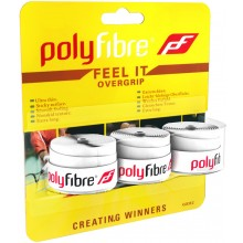 3 POLYFIBRE FEEL IT OVERGRIPS