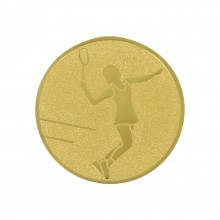 WOMEN'S TENNIS MEDAL (ALU - 50MM) WITH DESIGN