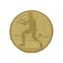 MEN'S TENNIS MEDAL (ALU - 25MM) WITH DESIGN