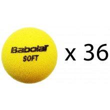 PACK OF 36 BABOLAT SOFT FOAM BALLS