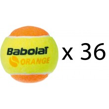 REFILL OF 36 BABOLAT ORANGE BALLS