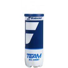 CAN OF 3 BABOLAT TEAM ALL COURT BALLS