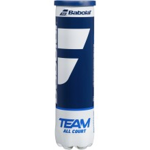 CAN OF 4 BABOLAT TEAM ALL COURT BALLS