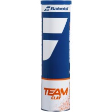 CAN OF 4 BABOLAT TEAM CLAY BALLS