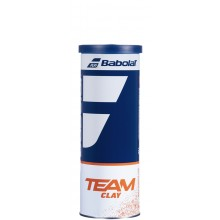 CAN OF 3 BABOLAT TEAM CLAY BALLS