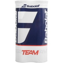 BIPACK OF 4 BABOLAT TEAM YELLOW BALLS