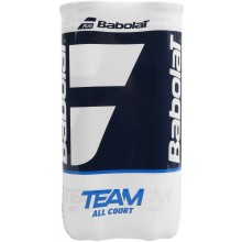 BIPACK OF 4 BABOLAT TEAM ALL COURT BALLS