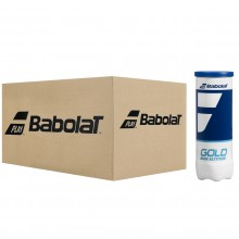 CASE OF 24 TUBES OF 3 BABOLAT GOLD HIGH ALTITUDE BALLS
