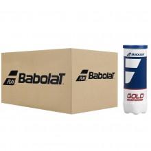 CASE OF 24 TUBES OF 3 BABOLAT GOLD CHAMPIONSHIP BALLS