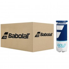 CASE OF 24 TUBES OF 3 BABOLAT GOLD ALL COURT BALLS