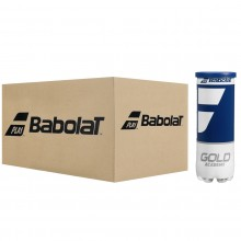 CASE OF 24 TUBES OF 3 BABOLAT GOLD ACADEMY BALLS