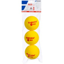 PACK OF 3 BABOLAT RED FOAM BALLS