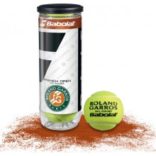 3 BABOLAT FRENCH OPEN ALL COURT BALLS