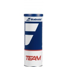 CAN OF 3 BABOLAT TEAM BALLS