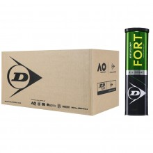 CASE OF 18 CANS OF 4 DUNLOP FORT TOURNAMENT SELECT BALLS