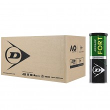 CASE OF 24 CANS OF 3 DUNLOP FORT TOURNAMENT SELECT BALLS