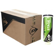 DUNLOP EASY TENNIS STAGE 1 24 3-BALLS CANS BOX