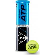 CAN OF 4 DUNLOP ATP BALLS
