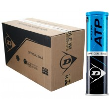 CASE OF 18 CANS OF 4 DUNLOP ATP BALLS
