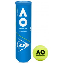 CAN OF 4 DUNLOP AUSTRALIAN OPEN BALLS