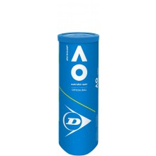 CAN OF 3 DUNLOP AUSTRALIAN OPEN BALLS
