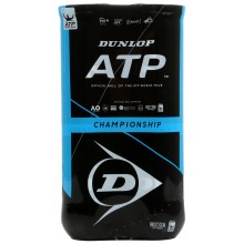 BIPACK OF 4 DUNLOP ATP CHAMPIONSHIP BALLS