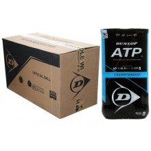 CASE OF 9 BIPACKS OF 4 DUNLOP ATP CHAMPIONSHIP BALLS