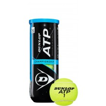 CAN OF 3 DUNLOP ATP CHAMPIONSHIP BALLS