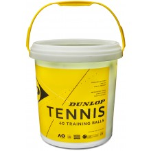 BUCKET OF 60 DUNLOP TRAINING BALLS