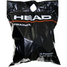 BAG OF 72 HEAD PRESSURELESS TRAINER BALLS