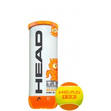 CAN OF 3 HEAD T.I.P ORANGE BALLS
