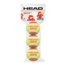BAG OF 3 HEAD T.I.P RED BALLS