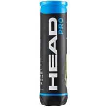 CAN OF 4 HEAD PRO BLUE BALLS