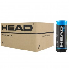 CASE OF 24 CANS OF 3 HEAD PRO BLUE BALLS