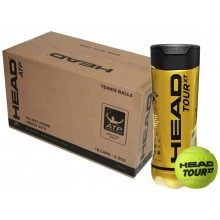 CASE OF 24 CANS OF 3 HEAD TOUR XT BALLS