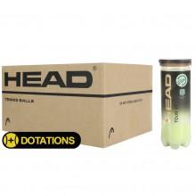 CASE OF 24 CANS OF 3 HEAD TOUR XT BALLS