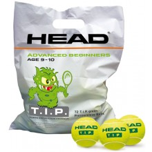 PACK OF 72 HEAD T.I.P GREEN BALLS