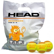 BAG OF 72 HEAD T.I.P ORANGE BALLS