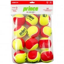 BAG OF 12 PRINCE STAGE 3 RED FELT BALLS