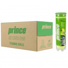 CASE OF 18 CANS OF 4 PRINCE NX TOUR PRO BALLS