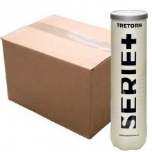 CASE OF 18 CANS OF 4 TRETORN SERIE+ BALLS