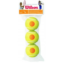 PACK OF 3 WILSON STARTER ORANGE BALLS