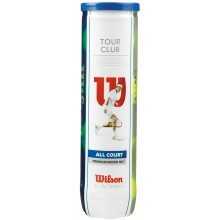 CAN OF 4 WILSON TOUR CLUB BALLS