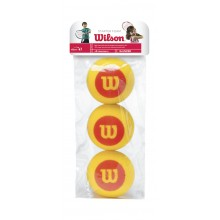 PACK OF 3 WILSON STARTER FOAM BALLS