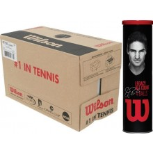 CASE OF 18 CANS OF 4 WILSON RF LEGACY BALLS