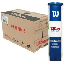 CASE OF 18 CANS OF 4 WILSON ULTRA CLUB BALLS
