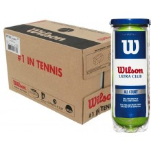 CASE OF 24 CANS OF 3 WILSON ULTRA CLUB BALLS