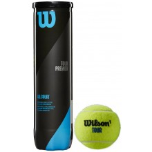 CAN OF 4 WILSON TOUR PREMIER BALLS