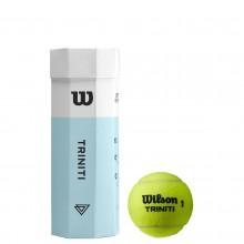 CAN OF 3 WILSON TRINITI BALLS