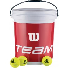 BUCKET OF 72 WILSON TRAINER BALLS